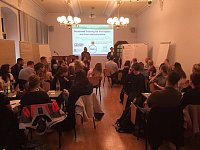 Workshop Dr. Scott Isaksen; Foto: Anne-Katrin Neyer